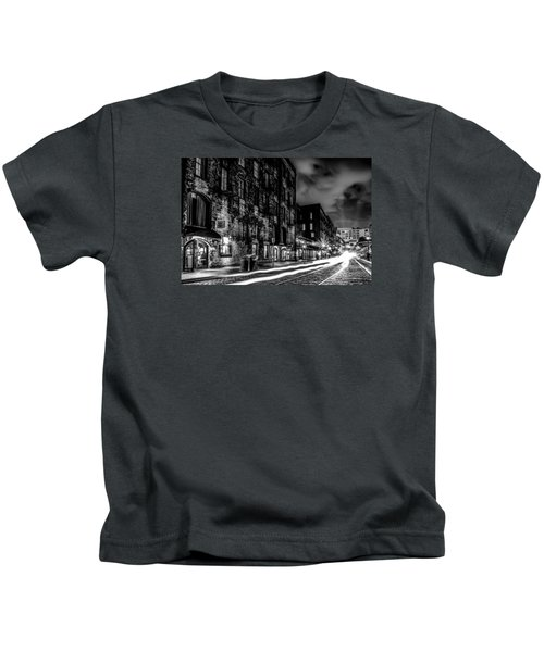 Savannah Georgia Waterfront And Street Scenes  Kids T-Shirt