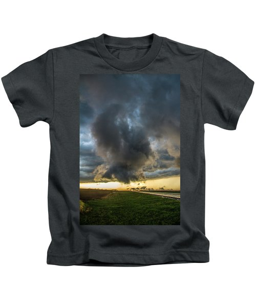 3rd Storm Chase Of 2018 050 Kids T-Shirt