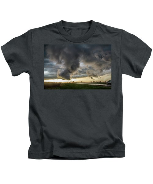 3rd Storm Chase Of 2018 051 Kids T-Shirt