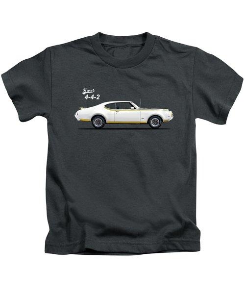 4-4-2 Hurst 1969 Kids T-Shirt