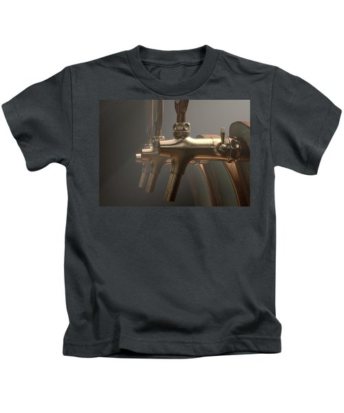 Beer Tap Row Kids T-Shirt