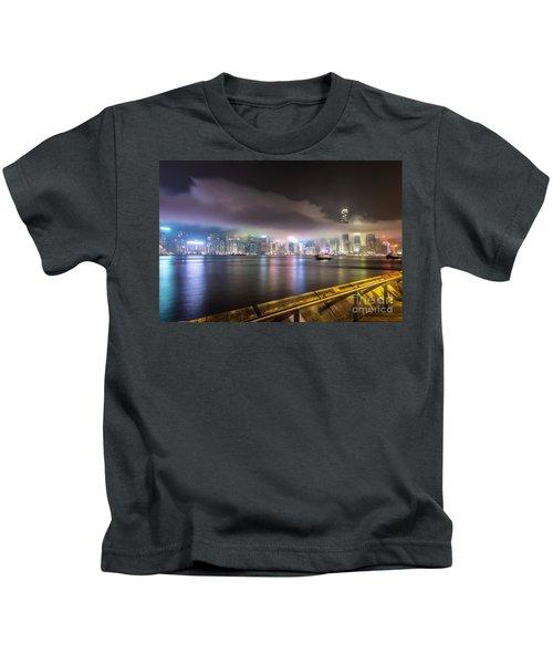 Hong Kong Stunning Skyline Kids T-Shirt