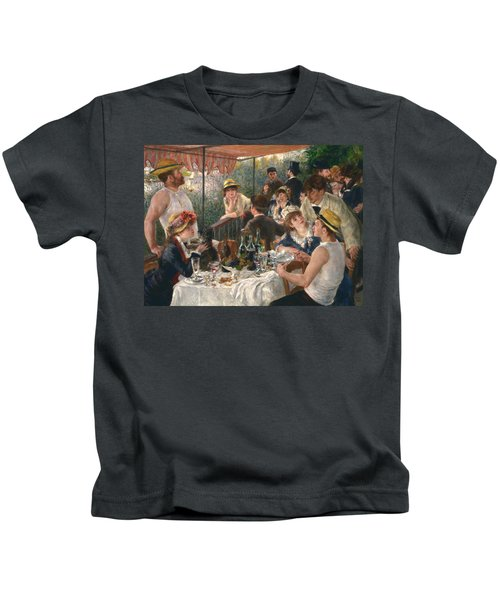 Luncheon Of The Boating Party Kids T-Shirt