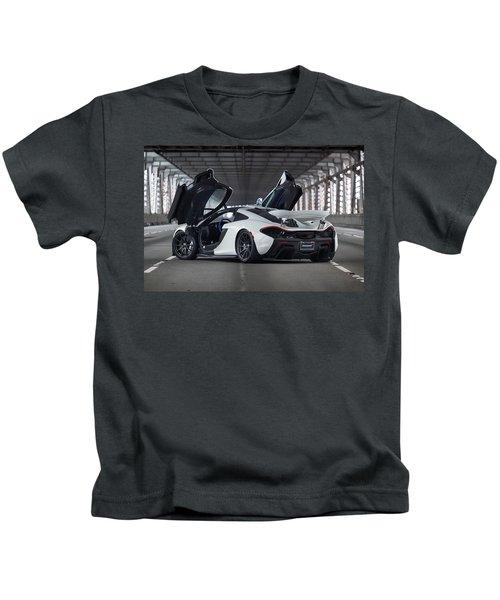 #mclaren #p1 #print Kids T-Shirt