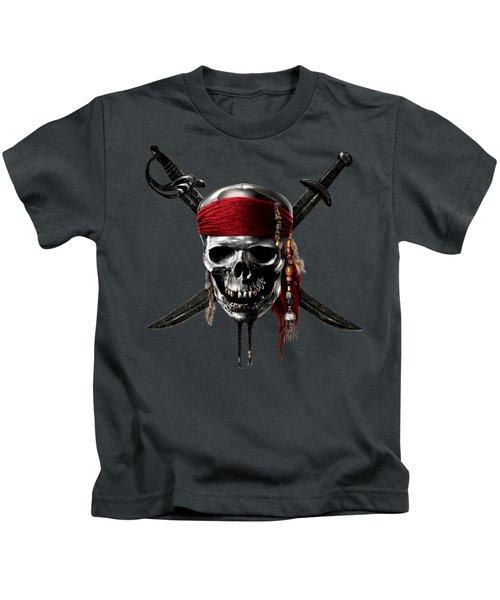 Pirates Of The Caribbean On Stranger Tides 2011  Kids T-Shirt