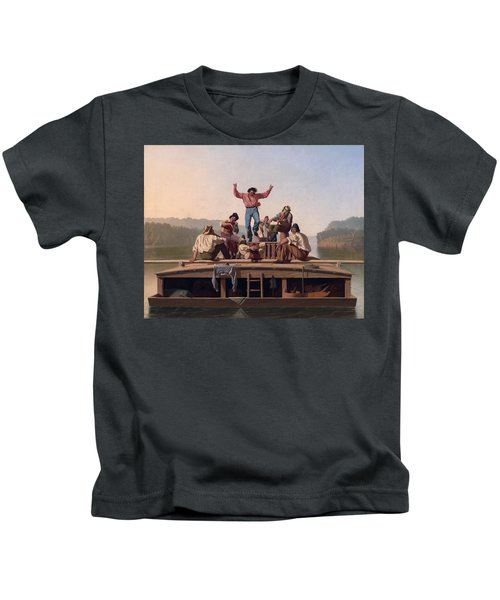 The Jolly Flatboatmen Kids T-Shirt