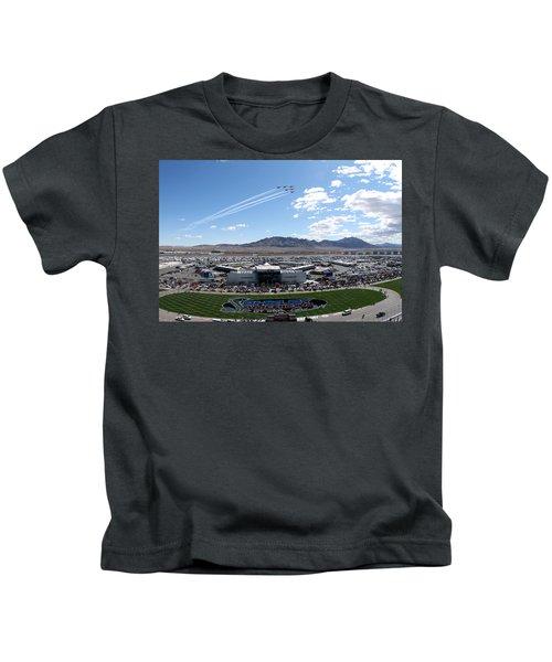 Usaf Thunderbirds Fly Over Kids T-Shirt