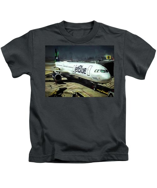 Jetblue @ New York City Kids T-Shirt