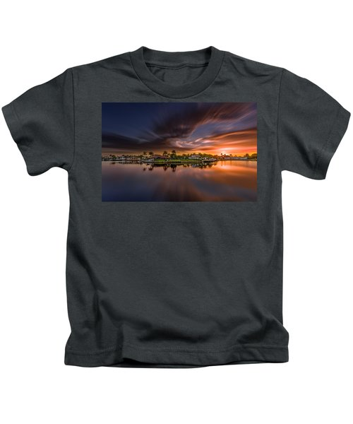 Sunrise At Naples, Florida Kids T-Shirt