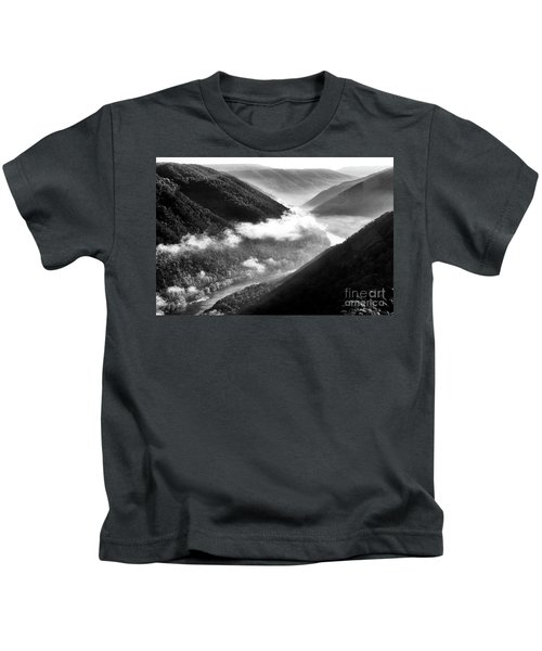 Grandview New River Gorge Kids T-Shirt