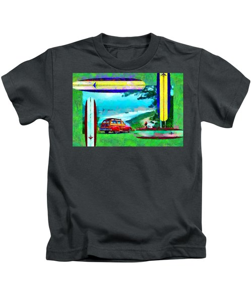 60's Surfing Kids T-Shirt