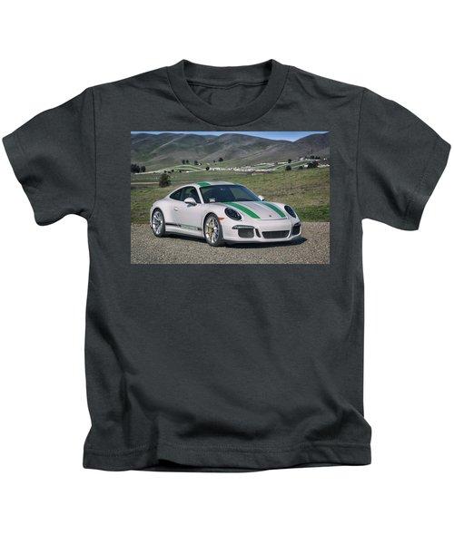 #porsche #911r #print Kids T-Shirt