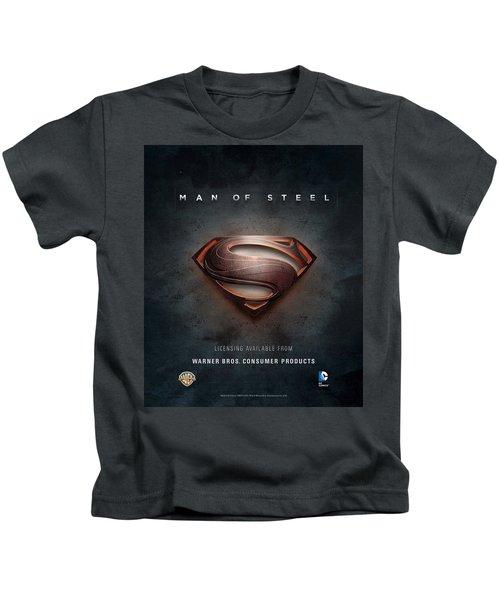 Man Of Steel 2013 Kids T-Shirt
