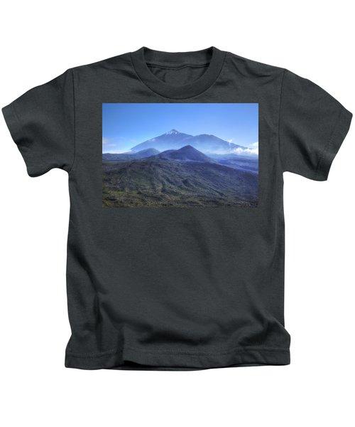 Tenerife - Mount Teide Kids T-Shirt by Joana Kruse