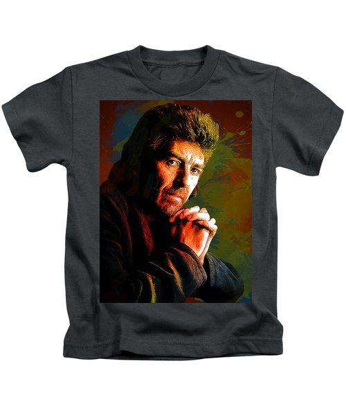 George Harrison. The Beatles. Kids T-Shirt