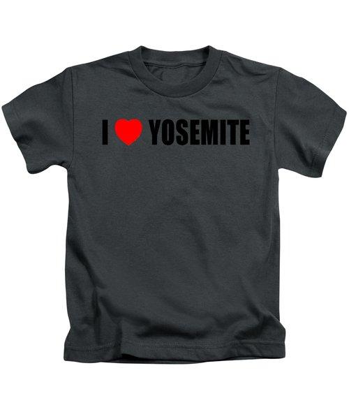 Yosemite National Park Kids T-Shirt