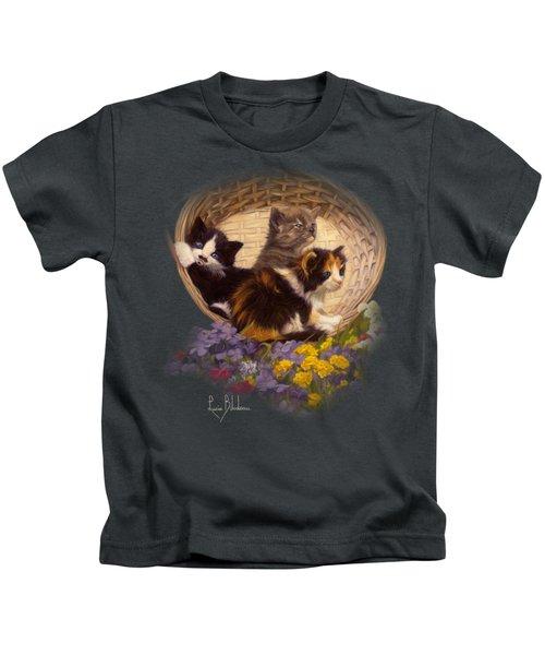 A Basket Of Cuteness Kids T-Shirt