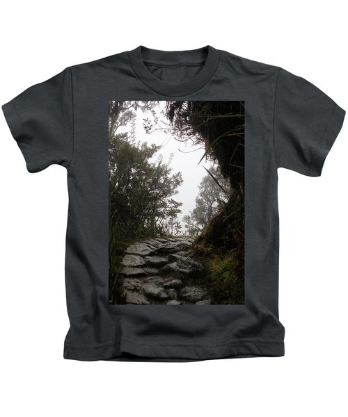 A Bend In The Path Kids T-Shirt