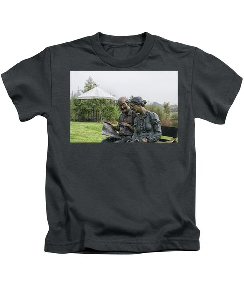 A Bronzed Couple Kids T-Shirt