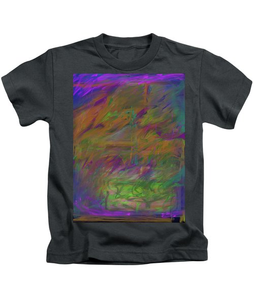 A Brush With The Edge Kids T-Shirt