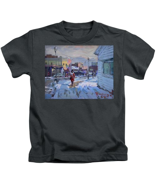 A Cold Afternoon In Tonawanda Kids T-Shirt