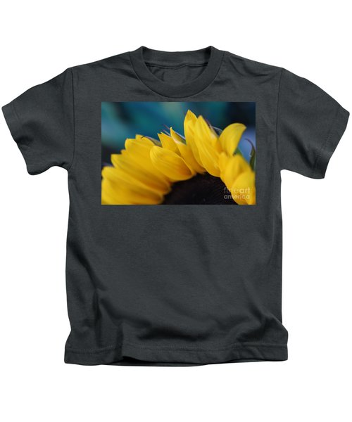 A Cool Sunflower Kids T-Shirt