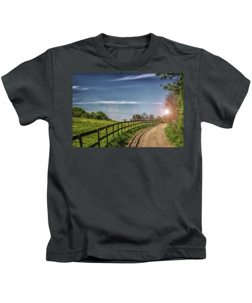 A Country Lane Kids T-Shirt