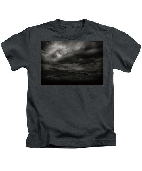 A Dark Moody Storm Kids T-Shirt