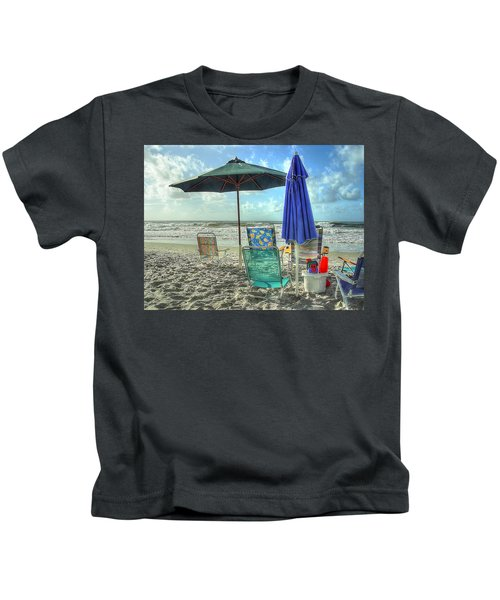 A Day At The Beach Kids T-Shirt