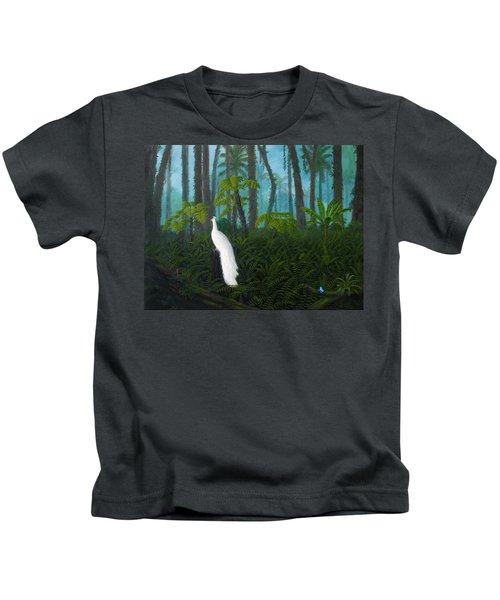 A Fantasy In White Kids T-Shirt
