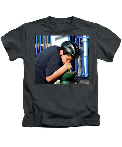 A Guy Gets Thirsty Ya Know Kids T-Shirt