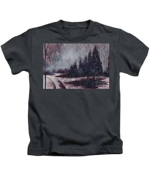 A Hazy Shade Of Winter  Kids T-Shirt