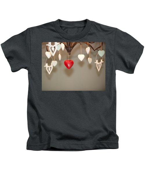 A Heart Among Hearts I Kids T-Shirt