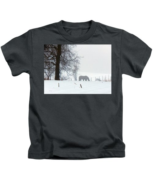 A Horse Of A Different Color Kids T-Shirt