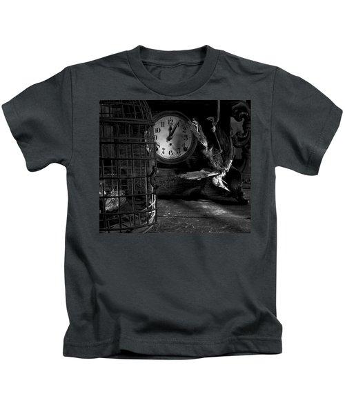 A Little Too Late Kids T-Shirt