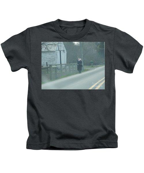 A Long Day Kids T-Shirt