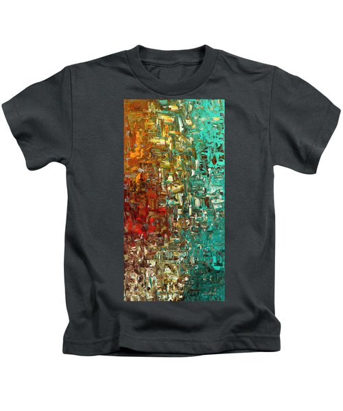 A Moment In Time - Abstract Art Kids T-Shirt