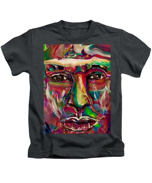 A New Man Kids T-Shirt