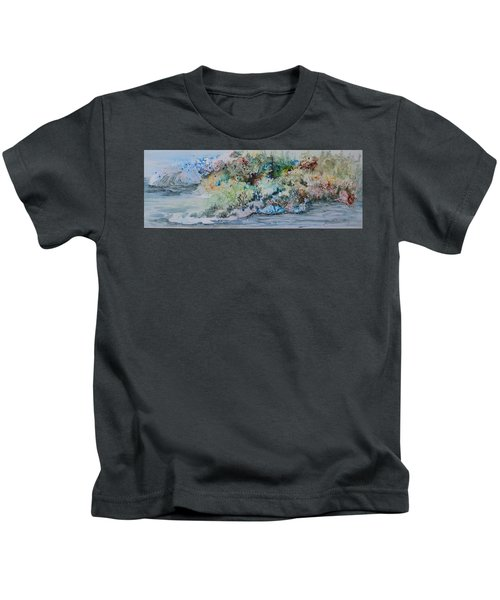 A Northern Shoreline Kids T-Shirt
