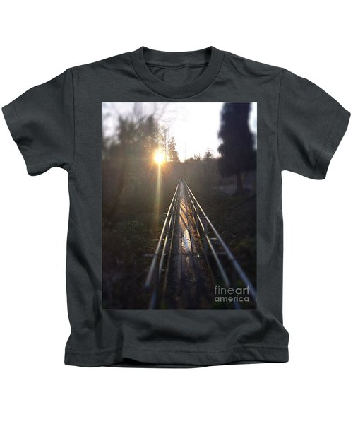A Path Into The Unknown Kids T-Shirt