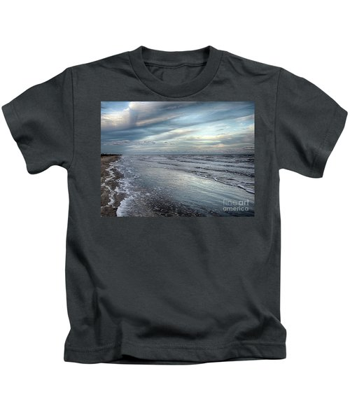 A Peaceful Beach Kids T-Shirt