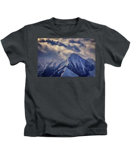A Peak In The Clouds Kids T-Shirt