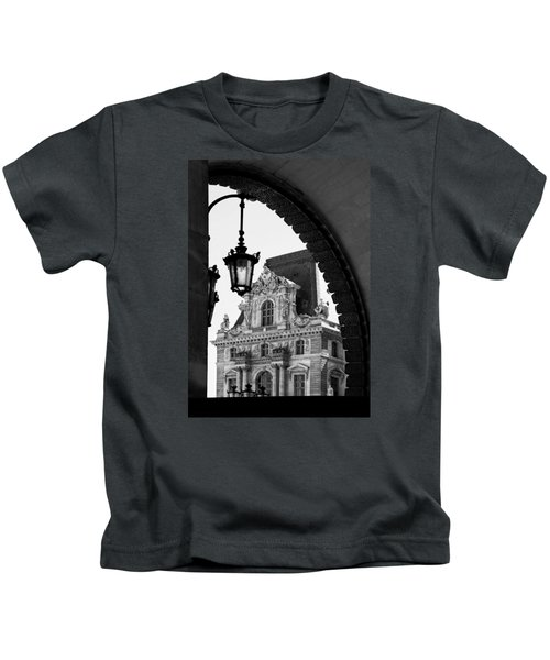 A Peak To The Louvre Kids T-Shirt