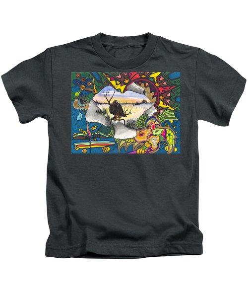 A Punch Through Kids T-Shirt