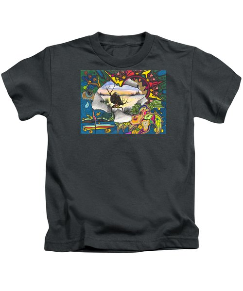 A Punch Through Kids T-Shirt