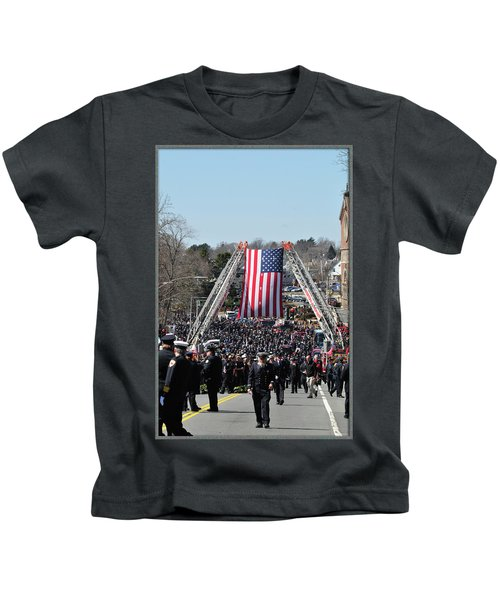 A Sad Day. Kids T-Shirt