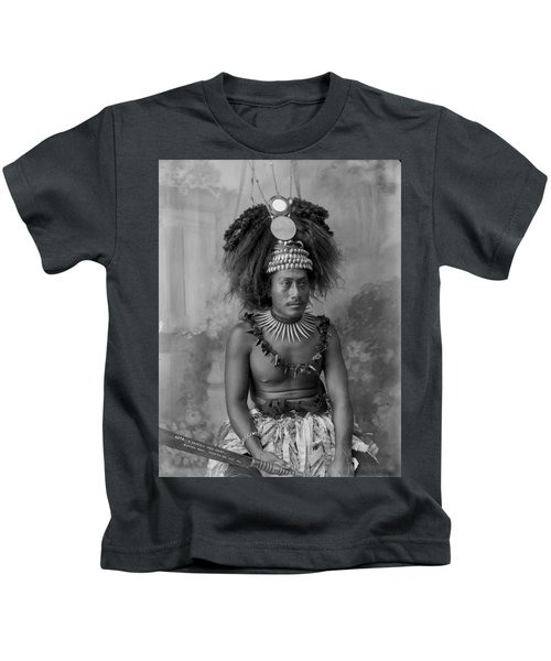 A Samoan High Chief Kids T-Shirt