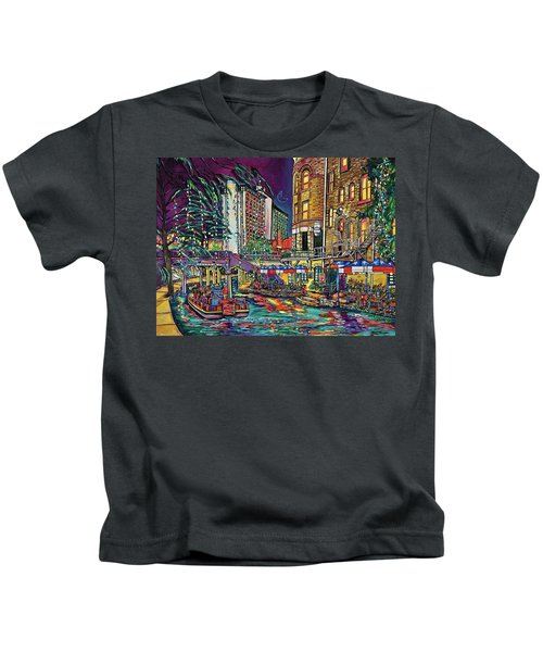 A San Antonio Christmas Kids T-Shirt