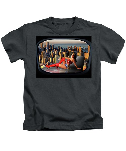 A Seat With A View Kids T-Shirt