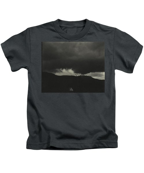 A Sequence Of Ten Cloud Photographs Kids T-Shirt